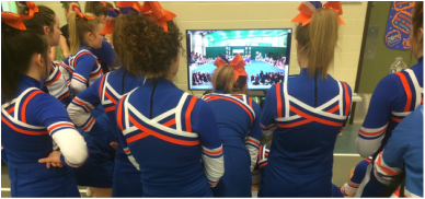 Cheerleading Instant Playback